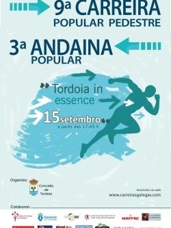 "IX CARREIRA POPULAR PEDESTRE ""TORDOIA IN ESSENCE"" 2018"