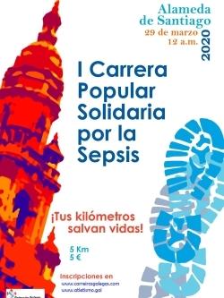 I CARREIRA POPULAR SOLIDARIA POLA SEPSIS - APRAZADA