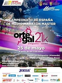ORTEGAL 21K - XXII CAMPIONATO DE GALICIA DE MEDIO MARATÓN - CTO. DE ESPAÑA MÁSTER