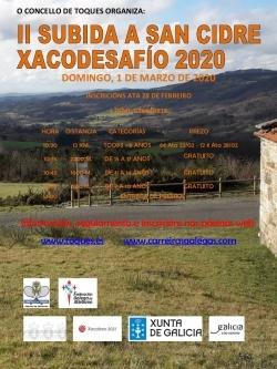 II SUBIDA A SAN CIDRE XACODESAFÍO 2020
