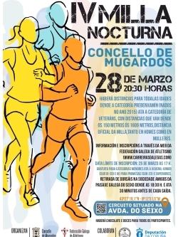 IV MILLA NOCTURNA CONCELLO DE MUGARDOS - APRAZADA