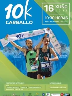 IX CARREIRA POPULAR 10KM CONCELLO CARBALLO. VII CIRCUITO DEP. PROVINCIAL DE A CORUÑA