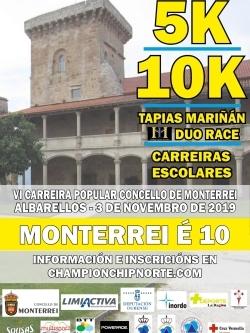 VI CARREIRA POPULAR CONCELLO DE MONTERREI