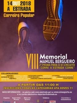 """VIII MEMORIAL BERGUEIRO. VI CIRCUÍTO """"CORRE A ESTRADA CORRE"""""""