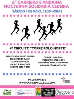 CARREIRA NOCTURNA DE CEDEIRA 5 KM
