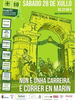 10 KILÓMETROS MARÍN - ENCE. MANUEL ROSALES- CAMPIONATO DE GALICIA 10K