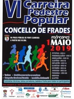 VI CARREIRA PEDESTRE POPULAR CONCELLO DE FRADES