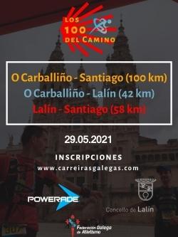 V EDICIÓN 100KM CARBALLIÑO - SANTIAGO