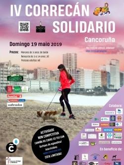 IV CORRECÁN SOLIDARIO CANCORUÑA 2019