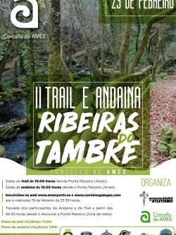 II TRAIL E ANDAINA RIBEIRAS DO TAMBRE - CONCELLO DE AMES