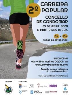 II CARREIRA POPULAR CONCELLO DE GONDOMAR - CANCELADA