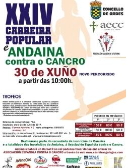 XXIV CARREIRA POPULAR CONCELLO DE ORDES