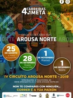 IV CIRCUITO DE CARREIRAS AROUSA NORTE 2019