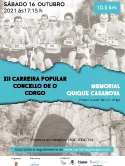 XII CARREIRA POPULAR CONCELLO DE O CORGO