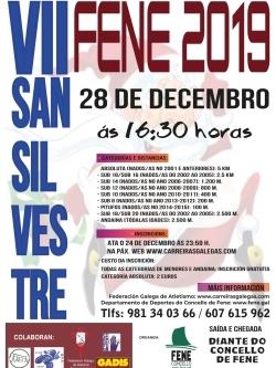 VII SAN SILVESTRE CONCELLO DE FENE