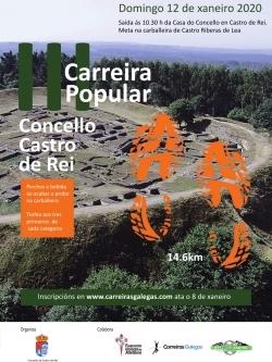III CARREIRA POPULAR CONCELLO DE CASTRO DE REI